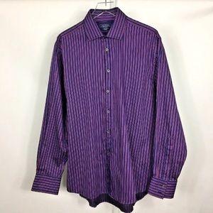 Charles Tyrwhitt Men's Slim Dress Shirt Size L